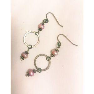 Jewelry - Dangling eclectic boho earrings.